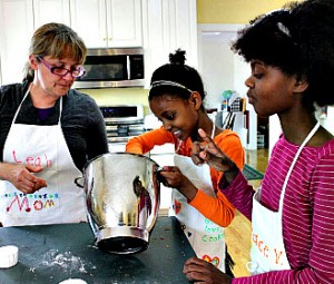 Baking-with-girls