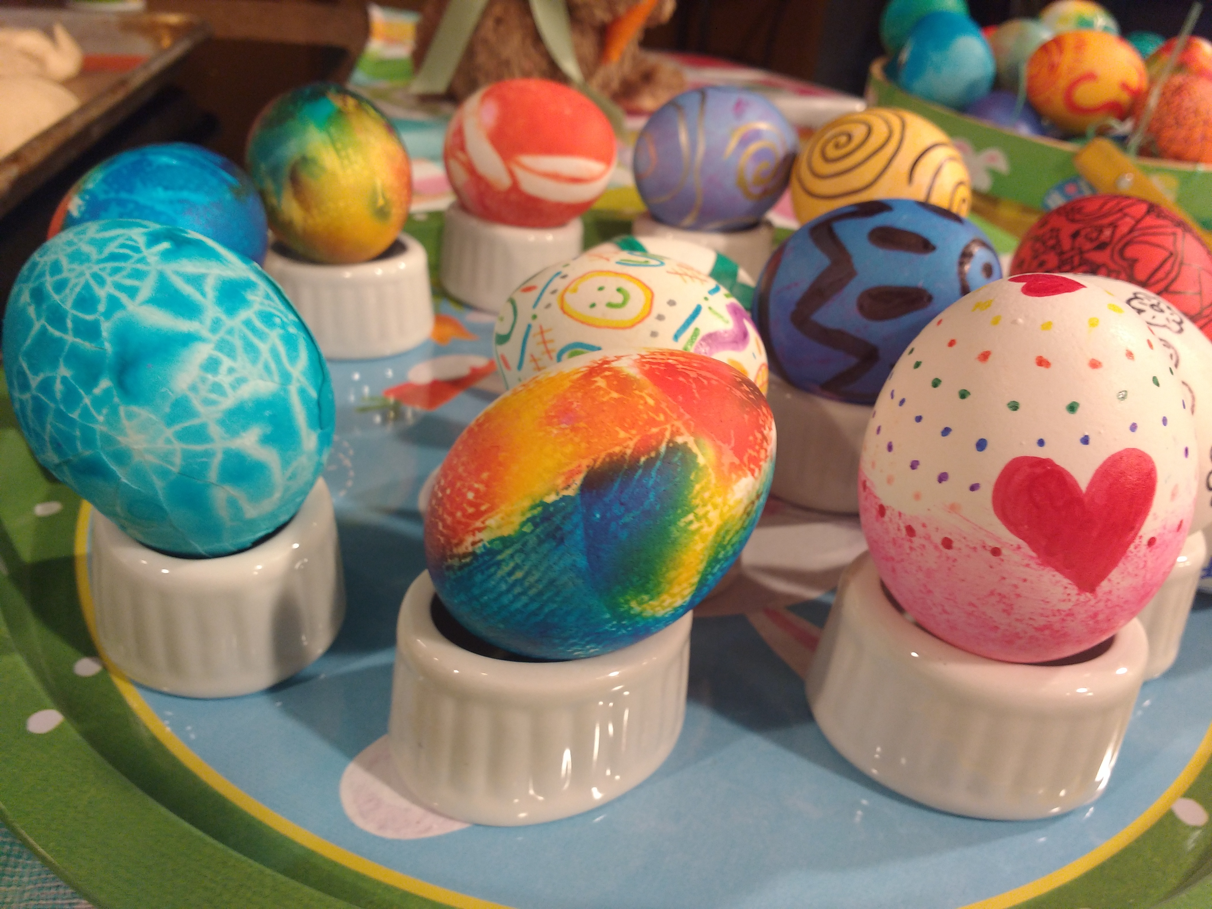 Eggs-tra Special Easter Eggs and Bunny Buns - Baking With Julie